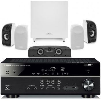 Yamaha RXV485+Polk Audio TL1700 Conjunto home cinema
