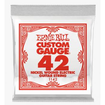 Ernie Ball 1142 Slinky Entorchada Cuerda Para Guitarra Electrica 042