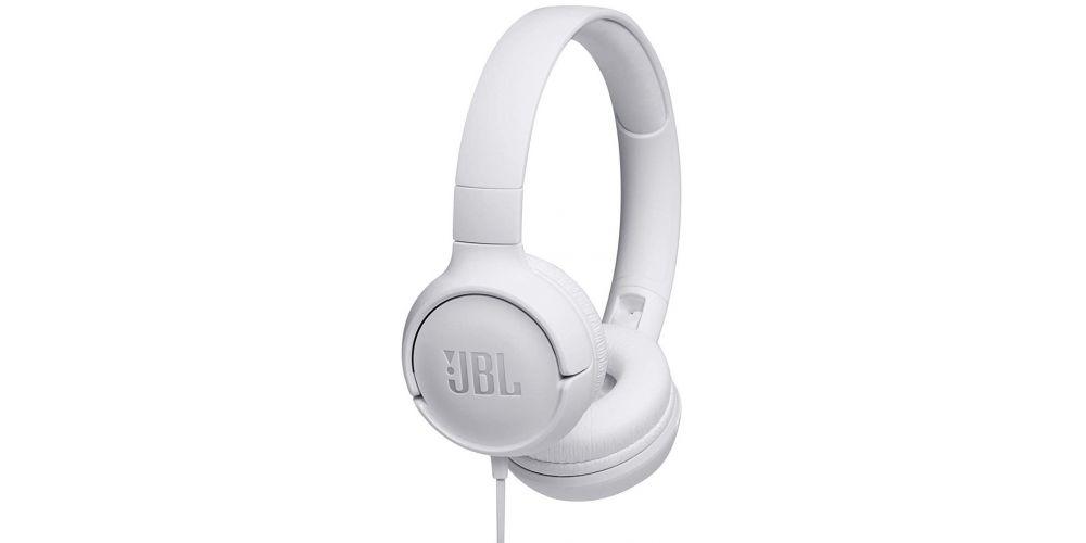 jbl t500 tune500 blanco