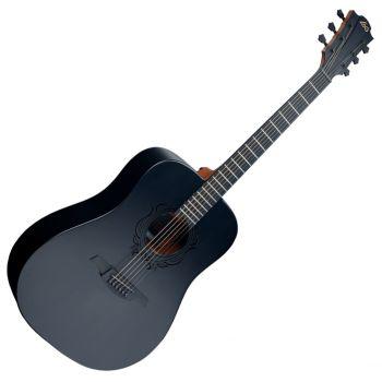 LAG LE18-SK3D Guitarra Acústica Formato Dreadnought Serie Skulture