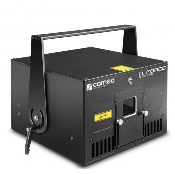 Cameo D FORCE 5000 RGB Láser de espectáculo de diodo puro profesional