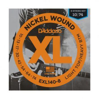 D´addario EXL140-8 Juego de cuerdas para guitarra eléctrica