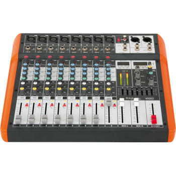 Ibiza Sound MX802 MESA DE MEZCLAS PARA MUSICO 8 CANALES USB & BLUETOOTH
