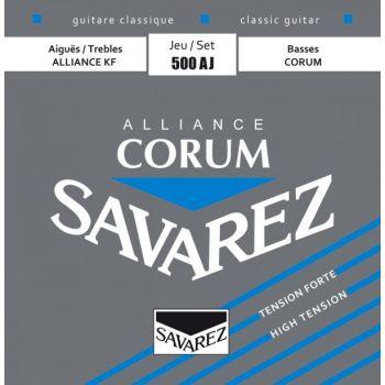Savarez 500AJ Juego de Cuerdas Para Guitarra Clásica