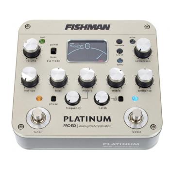 Fishman Platinum Pro EQ Preamplificador Analógico