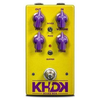 KHDK Scuzz Box Pedal Fuzz Para Guitarra