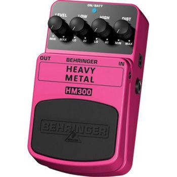 BEHRINGER Pedal  Guitarra Efecto Heavy Metal HM300 Behringer HM-300