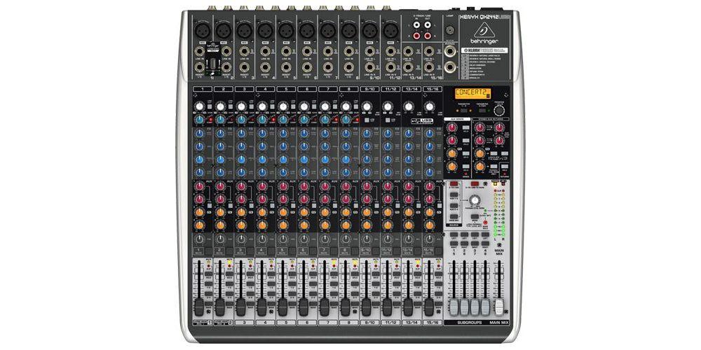 BEHRINGER QX2442USB XENYX Mezclador para Directo QX-2442 USB