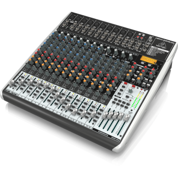 BEHRINGER QX2442USB XENYX Mezclador 24 canales Studio/ Directo