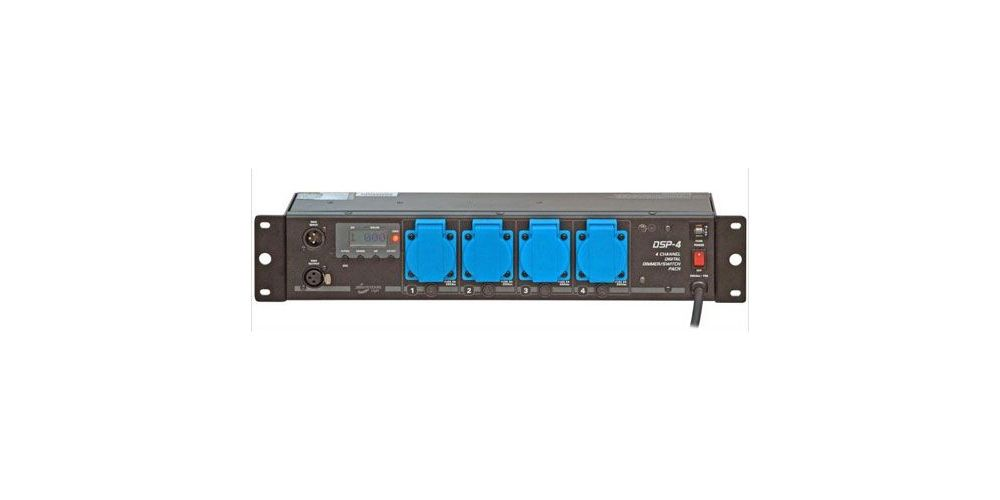 jbsystmes dsp 4 dimmer dmx 4 x1000 canales