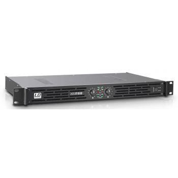 LD SYSTEMS  XS 700 Amplificador de PA Class D 2 x 350 W 4 Ohmios