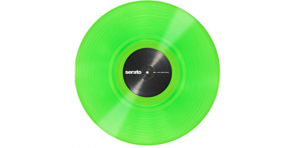 vinilo serato performance green