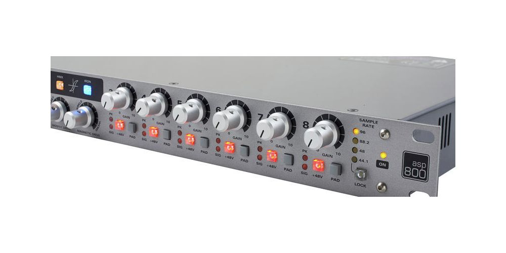 Audient ASP 800 Previo de Micro 8 Canales