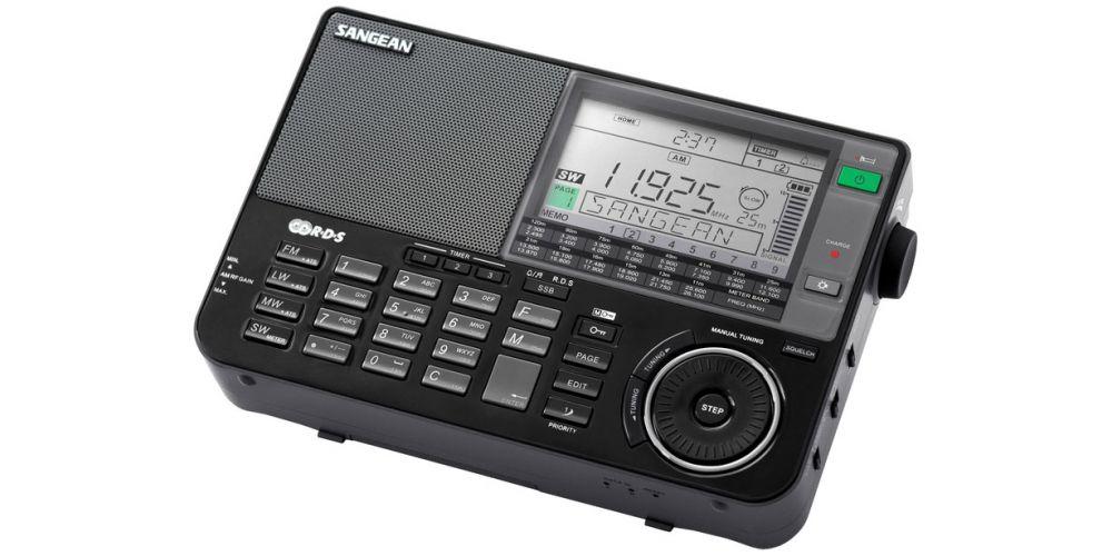 sangean ats909xbk radio multibanda negro