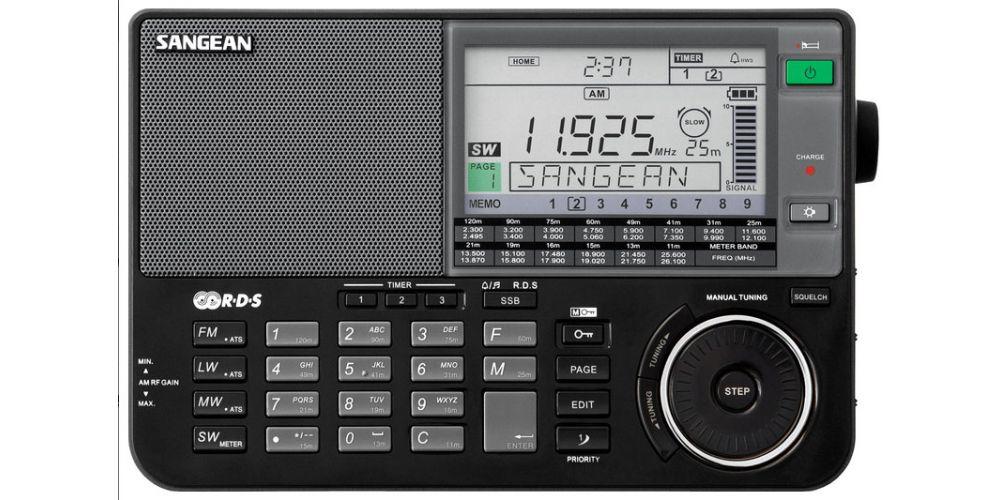 SANGEAN ATS909X Radio Multibanda Negro