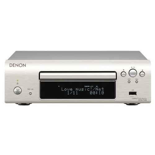 DENON DCD-F109 Silver Compact Disc CD