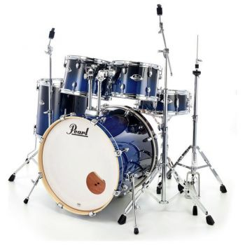 Pearl Export Lacquer Rock EXL725S Sea Blue Fade