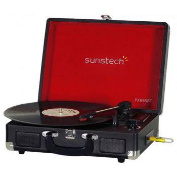 SUNSTECH PXR6 Tocadiscos Retro MP3. Pasar Discos a MP3 con CD