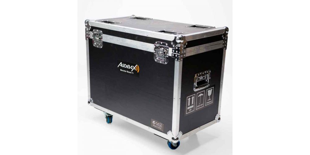 audibax monster beam 7r flightcase