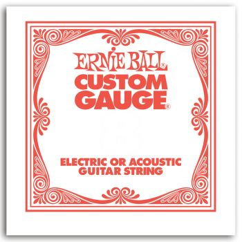 Ernie Ball 1010 Cuerda de Guitarra Electrica SLINKY PLANA 0.10