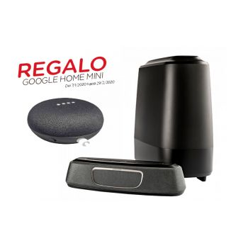 Polk audio MAGNIFI-MINI+Google Home Mini de Regalo