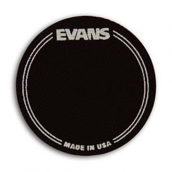 Evans EQPB1, Patch de Impacto, Tela de Cordura, Color Negro