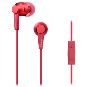 PIONEER SE-C3T-R Auriculares Con Microfono