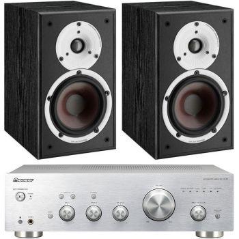 Pioneer A-30S+Dali Spektor 2 Black Conjunto Audio