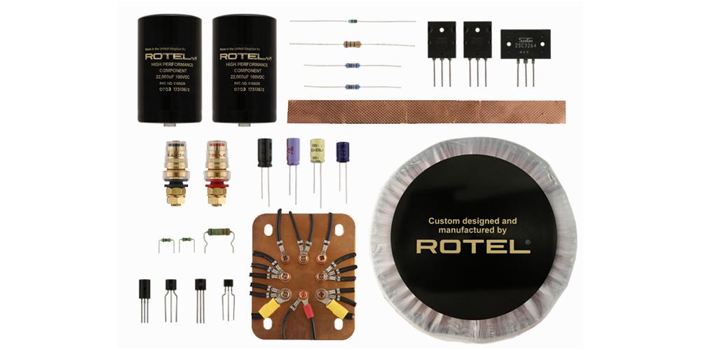rotel rmb1512v2 fabricacion componentes