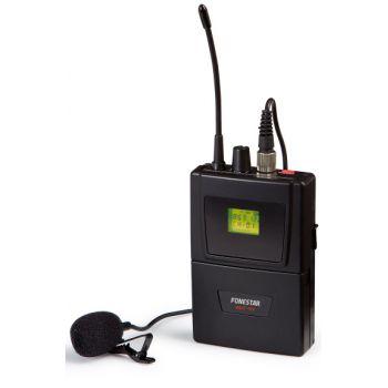 Fonestar MSHT-45P-823 Micrófono inalámbrico de petaca UHF
