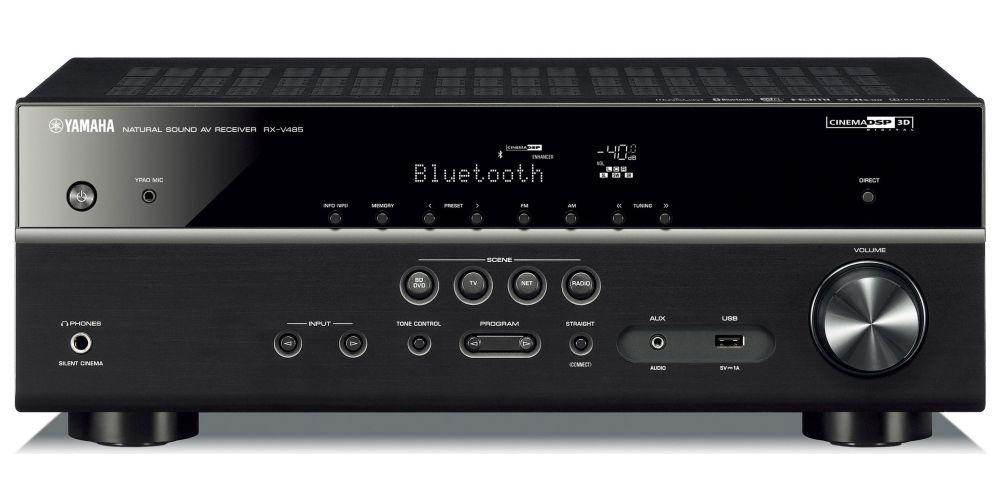 yamaha RXV485 receptor AV 5 1 mando distancia wifi bluetooth