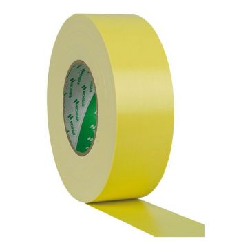 Antari Gaffa Tape 50mm 50m Yellow Nichiban Cinta Amarilla 90631