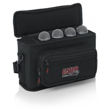 Gator GM-4 Bolsa para 4 Microfonos