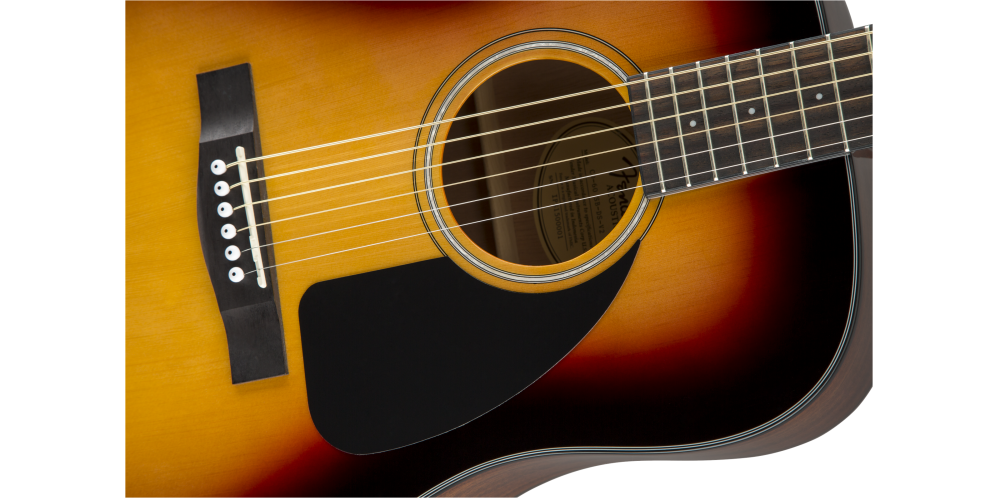 fender cd 60 sunburst v3 golpeador
