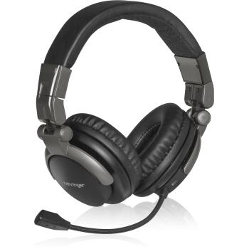 Behringer BB 560M Auriculares Bluetooth con Micrófono Para Teletrabajo, Locutores, Podcasters, Laboratorios de música y Pc Gaming.