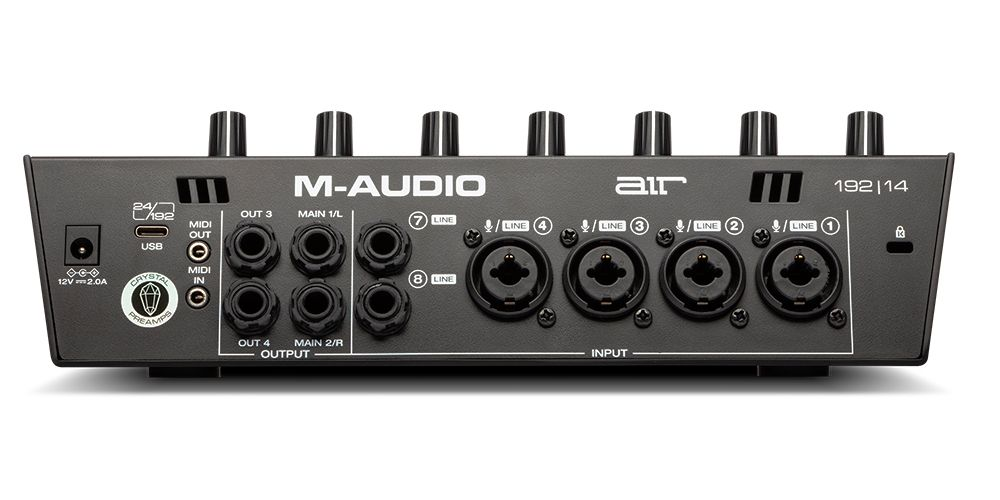 m audio AIR 192 14 conexiones