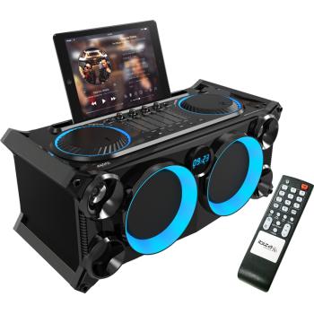 Ibiza Sound SPLBOX200-BK Sistema de Audio Portatil con Bateria y Bluetooth