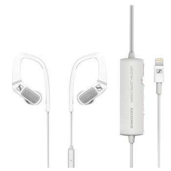 Sennheiser Ambeo Smart Headset White Microauricular Para Sonido De Vídeo 3d