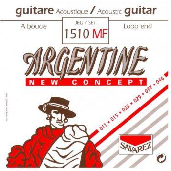 Savarez Argentine 1510MF Juego de Cuerdas para Guitarra Acústica/Gypsy