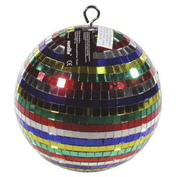 Eurolite Bola de Espejo 20cm Multicolor