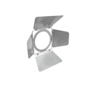 Eurolite Barndoors 213x213mm Silver Visera para Foco