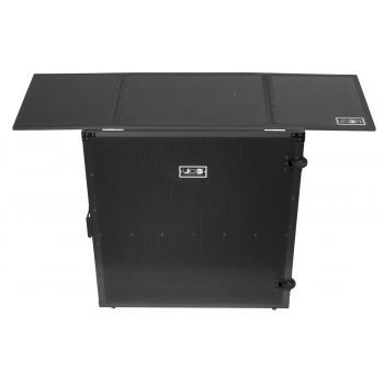 Udg U91049BL Mesa DJ de alumnio en color negro plegable y con ruedas
