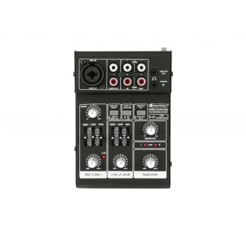 Omnitronic MRS-502USB Mezclador con Interfaz de Audio