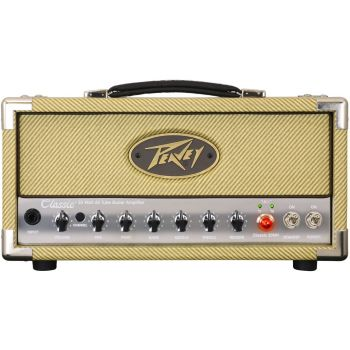 Peavey Classic 20 Mini Head Amplificador para Guitarra Eléctrica