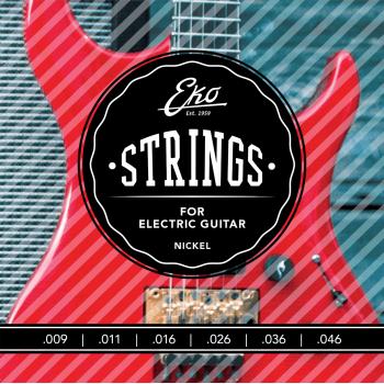 Eko Nickel Light 9-46 Cuerdas Para Guitarra Electrica