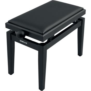 Quik Lok PB-100 Negra Mate Banqueta para Piano
