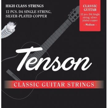 Gewa F600504 Cuerdas Guitarra Clásica Tenson Nylon RE Tensión Normal
