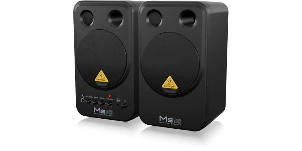 MS16 behringer altavoz amp