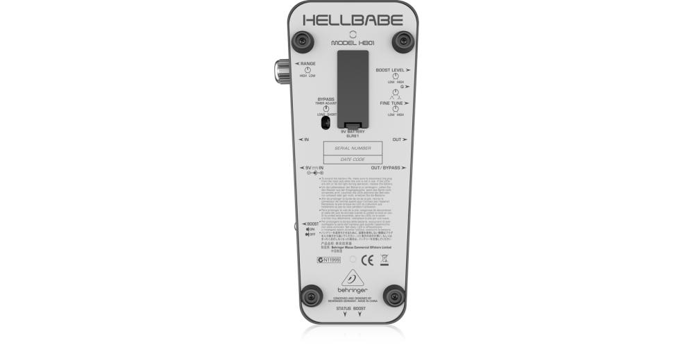 behringer HB01 bateria