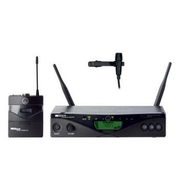 AKG WMS-470 PRESENTER Microfono Inalambrico Solapa SR470+PT470+CK99